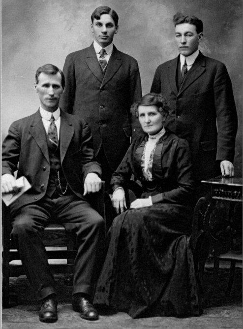 Stuart Talbot, Joe Keyes, Dick and Maude Talbot
