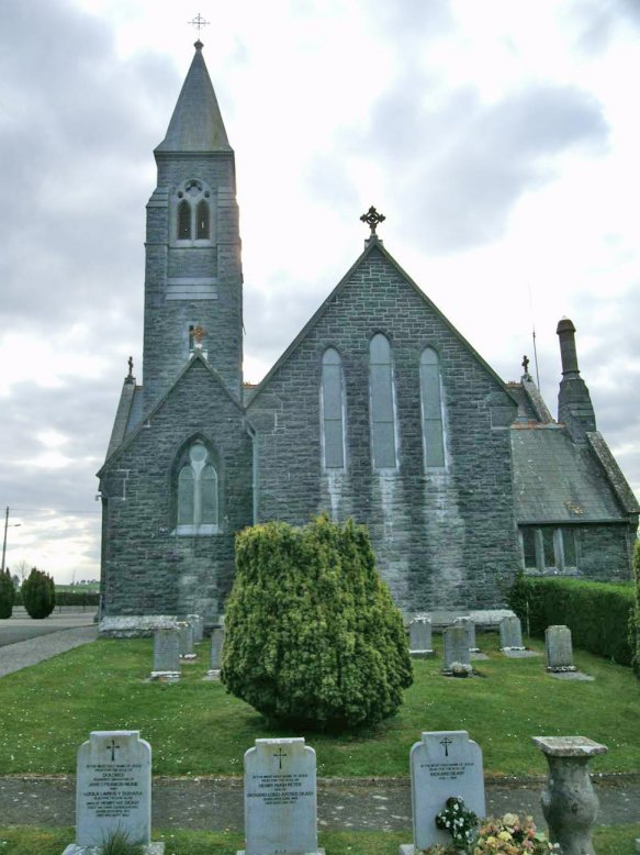 Terryglass Church, County Tipperary, Ireland, built in 1880