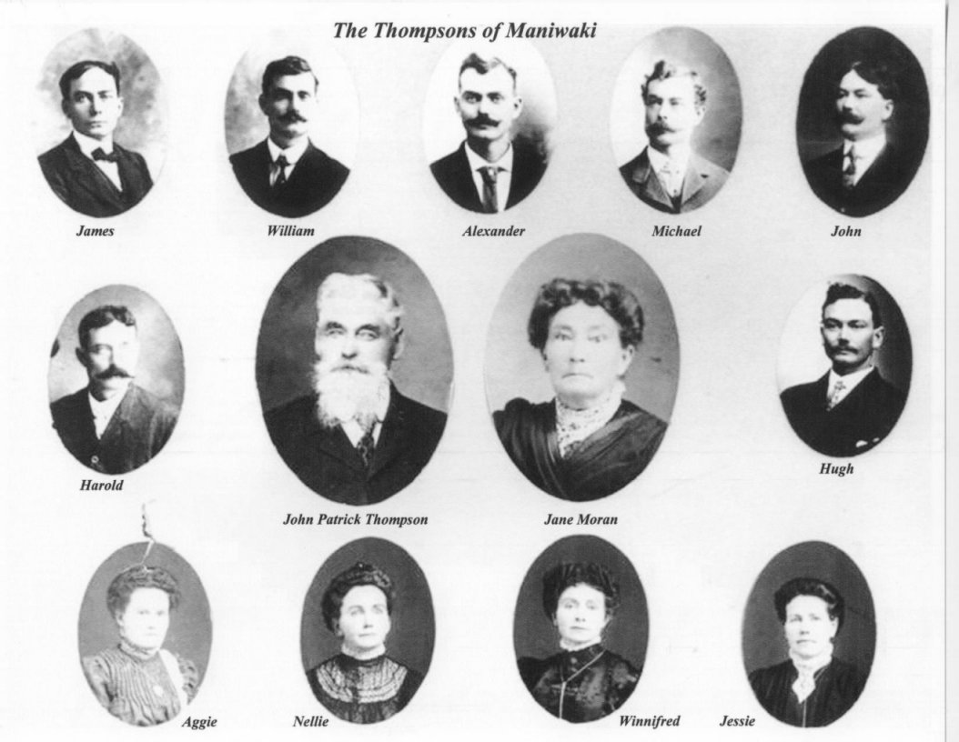 Thompson Family of Maniwaki, Quebec