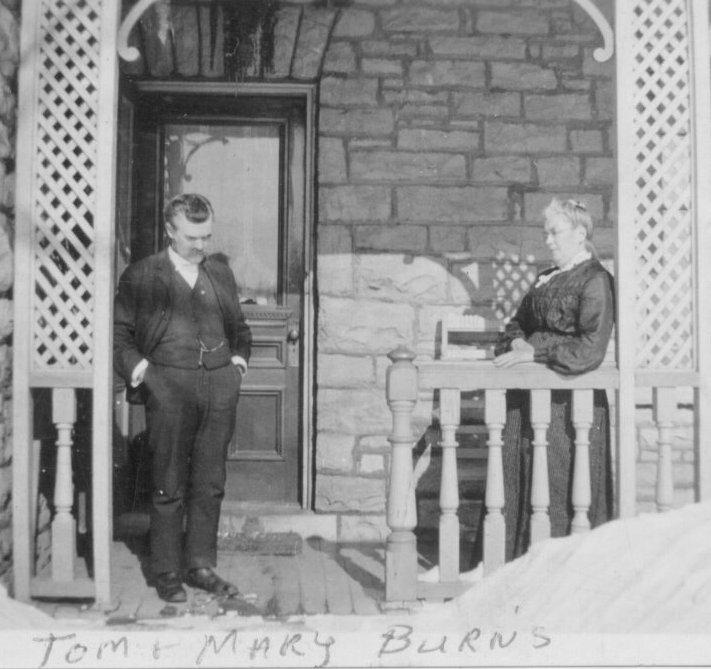 Thomas Burns and Mary Mahoney