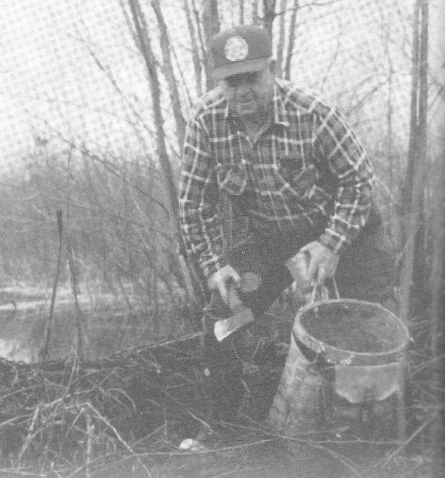 Angus MacRae, Trapping Beaver in Glengarry County, Ontario, Canada