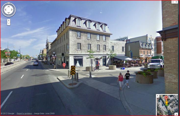 Byward Market, Ottawa, Canada, Building of Eusebe Varin, built c. 1850