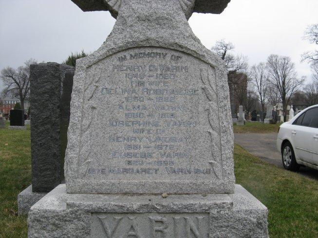 Varin Tombstone