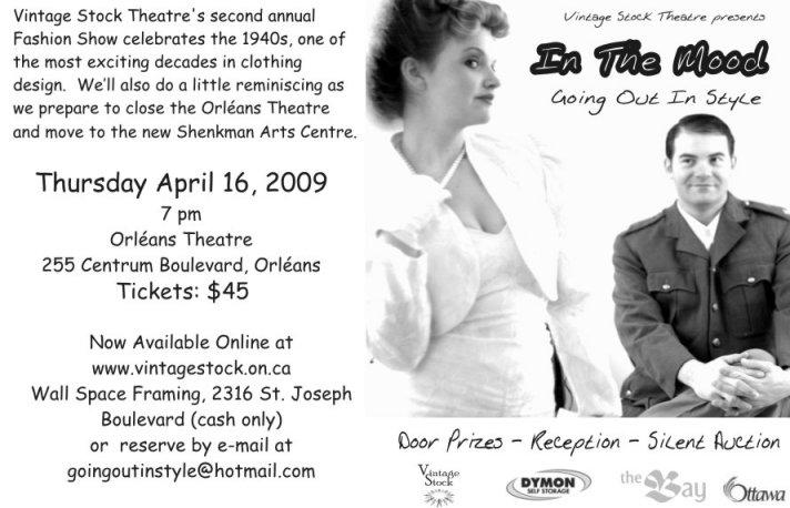 Vintage Stock Theatre Presentation, April 2009