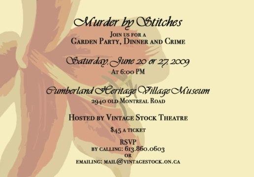 Vintage Stock Theatre Presentation, June 2009