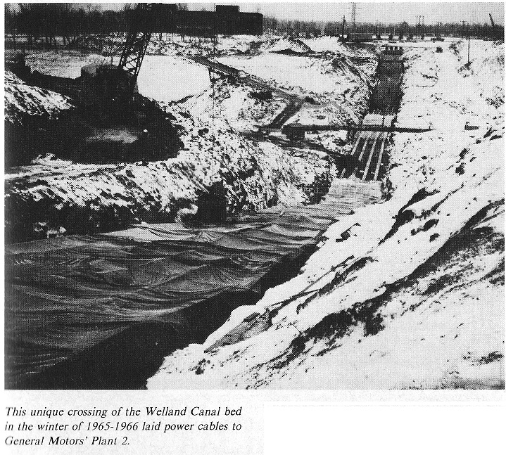 Welland Canal Bed