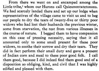 Gabriel Sagard Visits the Weskarini in 1624