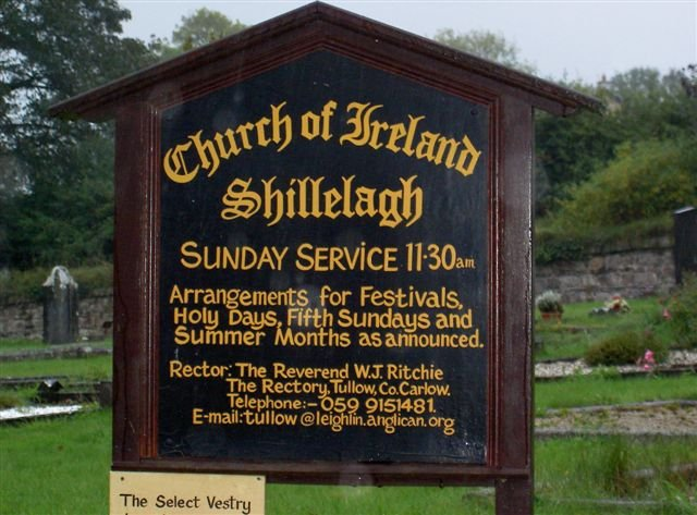 Church of Ireland, Shillelagh, Southwest County Wicklow