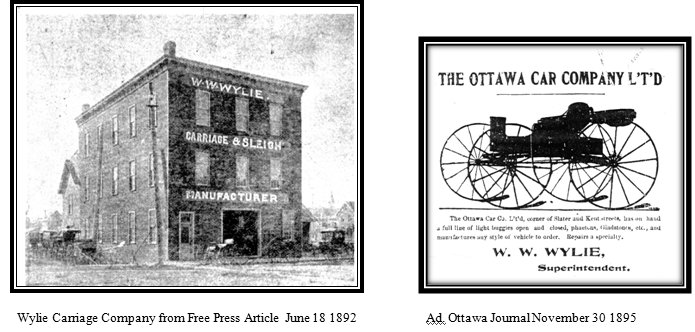 William Wylie and the Ottawa Carriage Company