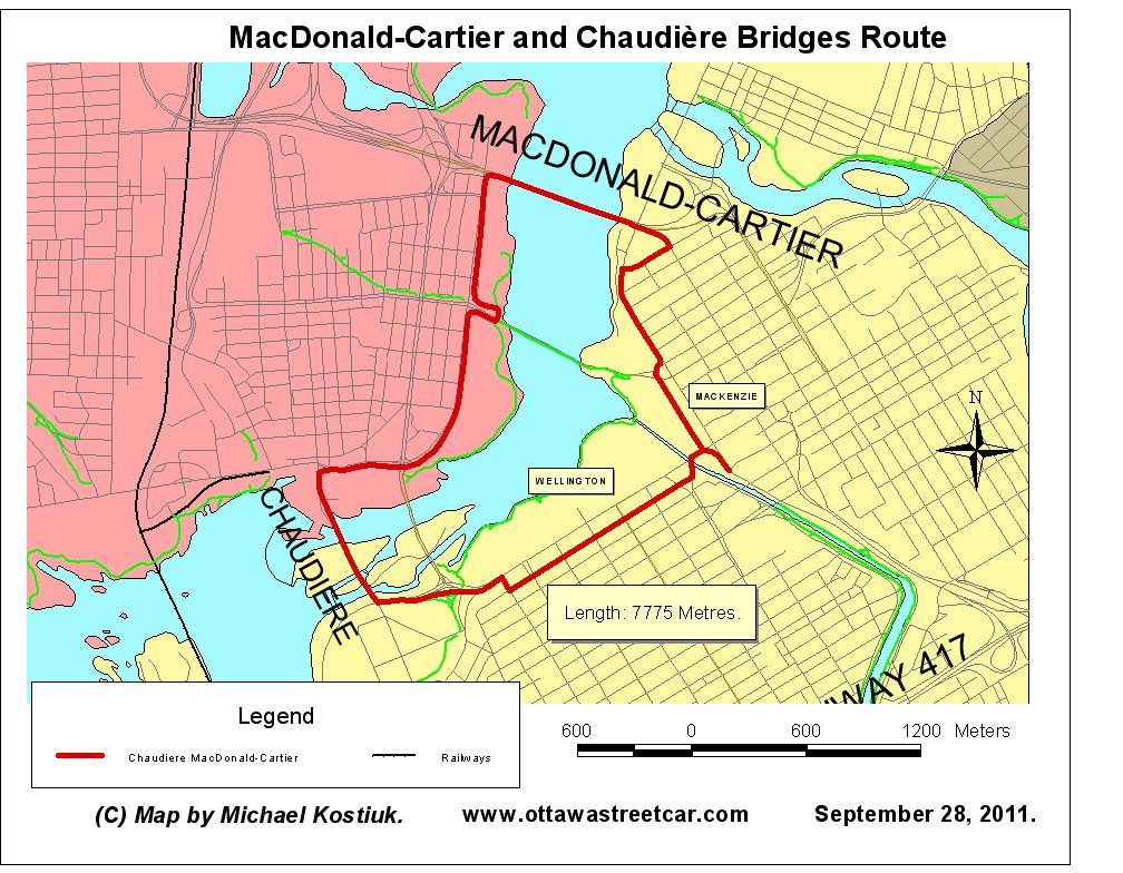 Ottawa Streetcar Home page. Possible Routes for the New Streetcar ...