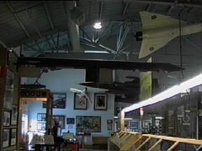 avro arrow cf 105 artifacts at the rcaf memorial museum in. Black Bedroom Furniture Sets. Home Design Ideas