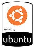 Powered by Ubuntu